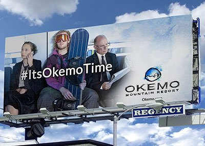 OKEMO Billboard Ads