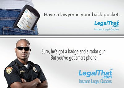 LegalThat Billboard Ads